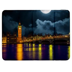 London Skyline England Landmark Samsung Galaxy Tab 7  P1000 Flip Case