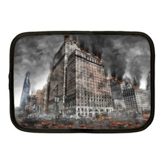 World War Armageddon Destruction Netbook Case (medium)