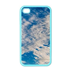 Clouds Sky Scene Apple Iphone 4 Case (color)
