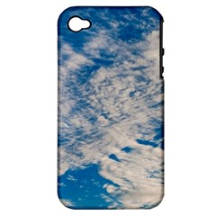 Clouds Sky Scene Apple Iphone 4/4s Hardshell Case (pc+silicone)