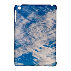 Clouds Sky Scene Apple Ipad Mini Hardshell Case (compatible With Smart Cover)