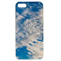 Clouds Sky Scene Apple Iphone 5 Hardshell Case With Stand