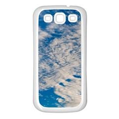 Clouds Sky Scene Samsung Galaxy S3 Back Case (white)