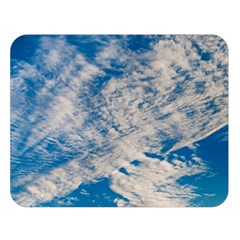 Clouds Sky Scene Double Sided Flano Blanket (large)
