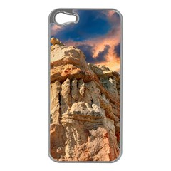 Canyon Dramatic Landscape Sky Apple Iphone 5 Case (silver)