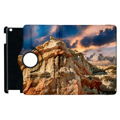 Canyon Dramatic Landscape Sky Apple Ipad 2 Flip 360 Case