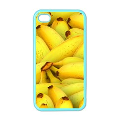 Yellow Banana Fruit Vegetarian Natural Apple Iphone 4 Case (color)