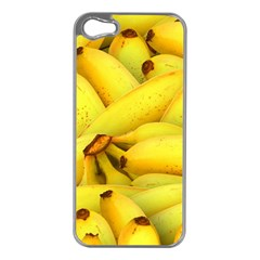 Yellow Banana Fruit Vegetarian Natural Apple Iphone 5 Case (silver)