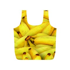 Yellow Banana Fruit Vegetarian Natural Full Print Recycle Bags (s)