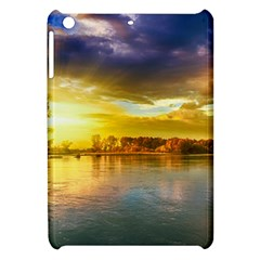 Landscape Lake Sun Sky Nature Apple Ipad Mini Hardshell Case