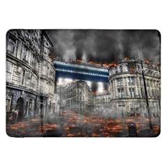 Destruction City Building Samsung Galaxy Tab 8 9  P7300 Flip Case