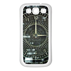 Time Machine Science Fiction Future Samsung Galaxy S3 Back Case (white)