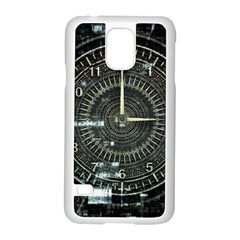 Time Machine Science Fiction Future Samsung Galaxy S5 Case (white)