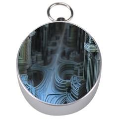 Fractal Design Silver Compasses
