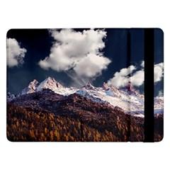 Mountain Sky Landscape Hill Rock Samsung Galaxy Tab Pro 12 2  Flip Case