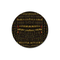 Hot As Candles And Fireworks In The Night Sky Magnet 3  (round)