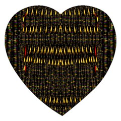 Hot As Candles And Fireworks In The Night Sky Jigsaw Puzzle (heart)