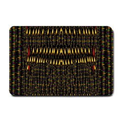 Hot As Candles And Fireworks In The Night Sky Small Doormat