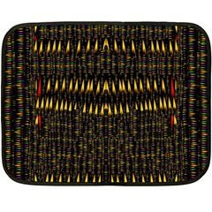 Hot As Candles And Fireworks In The Night Sky Fleece Blanket (mini)