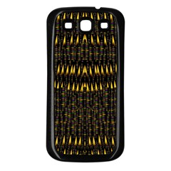 Hot As Candles And Fireworks In The Night Sky Samsung Galaxy S3 Back Case (black)