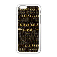 Hot As Candles And Fireworks In The Night Sky Apple Iphone 6/6s White Enamel Case