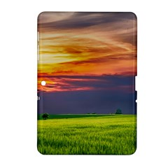 Countryside Landscape Nature Rural Samsung Galaxy Tab 2 (10 1 ) P5100 Hardshell Case