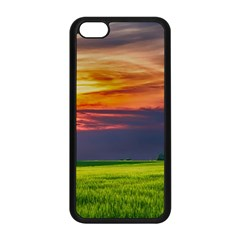 Countryside Landscape Nature Rural Apple Iphone 5c Seamless Case (black)