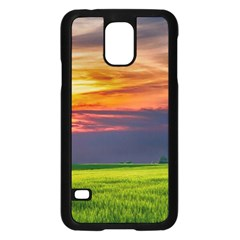 Countryside Landscape Nature Rural Samsung Galaxy S5 Case (black)