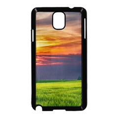 Countryside Landscape Nature Rural Samsung Galaxy Note 3 Neo Hardshell Case (black)