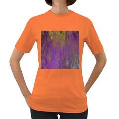 Background Texture Grunge Women s Dark T Shirt
