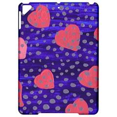 Underwater Pink Hearts Apple Ipad Pro 9 7   Hardshell Case
