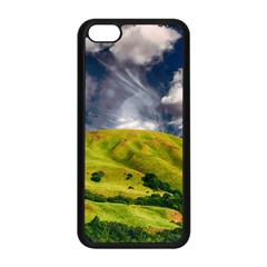 Hill Countryside Landscape Nature Apple Iphone 5c Seamless Case (black)