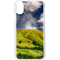Hill Countryside Landscape Nature Apple Iphone X Seamless Case (white)