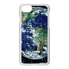 Earth Internet Globalisation Apple Iphone 8 Seamless Case (white)