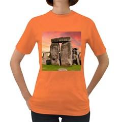 Stonehenge Ancient England Women s Dark T Shirt