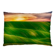 Hills Countryside Sky Rural Pillow Case (two Sides)
