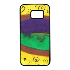 Landscape Egg Samsung Galaxy S7 Black Seamless Case