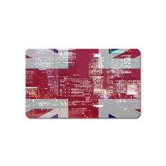 London England City Magnet (name Card)