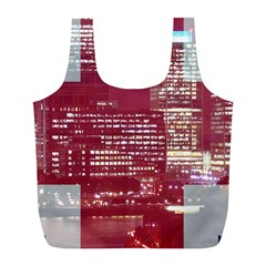 London England City Full Print Recycle Bags (l)