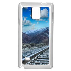 Nature Landscape Mountains Slope Samsung Galaxy Note 4 Case (white)
