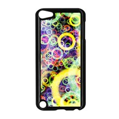 Background Texture Rings Apple Ipod Touch 5 Case (black)