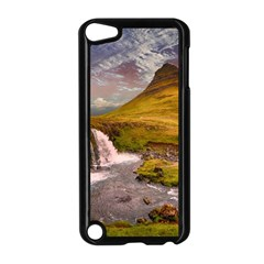 Nature Mountains Cliff Waterfall Apple Ipod Touch 5 Case (black)