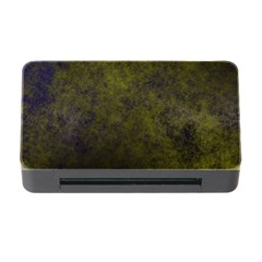 Green Background Texture Grunge Memory Card Reader With Cf
