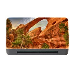 Canyon Desert Rock Scenic Nature Memory Card Reader With Cf