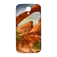Canyon Desert Rock Scenic Nature Samsung Galaxy S4 I9500/i9505  Hardshell Back Case