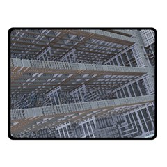 Ducting Construction Industrial Double Sided Fleece Blanket (small)