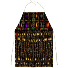 Hot As Candles And Fireworks In Warm Flames Full Print Aprons