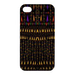 Hot As Candles And Fireworks In Warm Flames Apple Iphone 4/4s Premium Hardshell Case