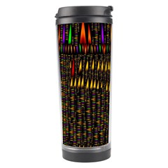 Hot As Candles And Fireworks In Warm Flames Travel Tumbler