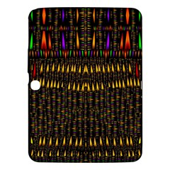 Hot As Candles And Fireworks In Warm Flames Samsung Galaxy Tab 3 (10 1 ) P5200 Hardshell Case